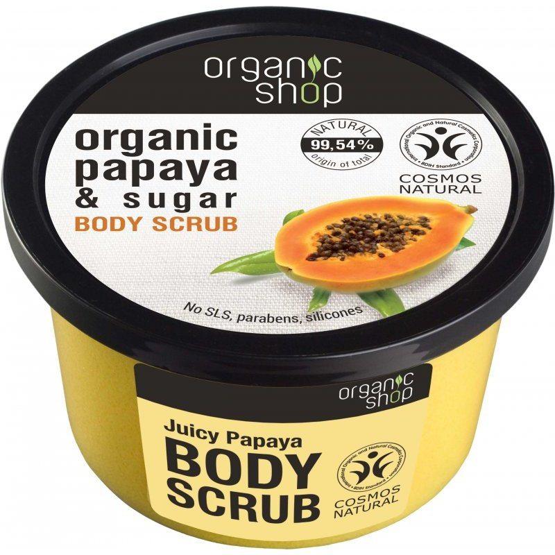 Organic Shop Bőrradír bio papayával és cukorral - 250ml