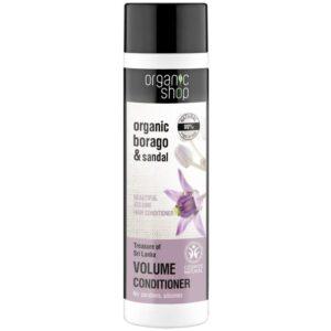 Organic Shop Dúsító balzsam bio borágó és szantálfa kivonattal - 280ml