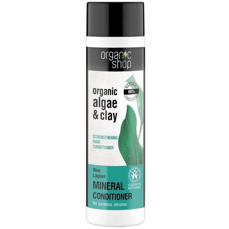 Organic Shop Erősítő balzsam bio alga és agyag kivonattal - 280ml
