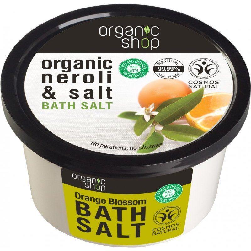 Organic Shop Narancsvirág fürdősó - 250ml