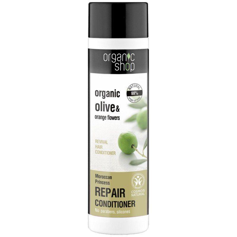 Organic Shop Regeneráló balzsam bio oliva olajjal és narancsvirág kivonattal - 280ml