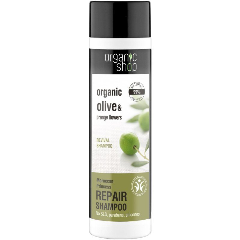 Organic Shop Regeneráló sampon bio olivaolajjal és narancsvirággal - 280ml
