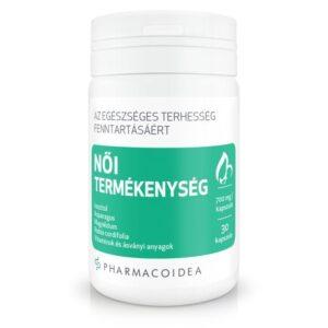 Pharmacoidea Női termékenység kapszula – 30db
