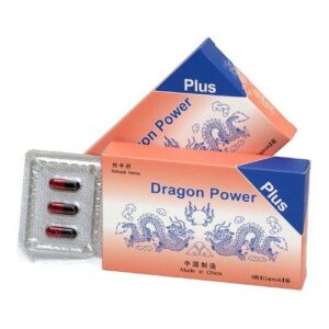 Dragon Power Plus potencianövelő kapszula - 6db