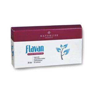 Flavan Naturlife antioxidáns hatású polifenolokkal és inulinnal - 60 db kapszula