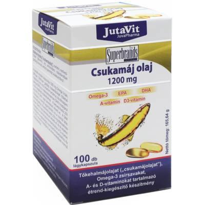 Jutavit Csukamáj olaj kapszula - 100db