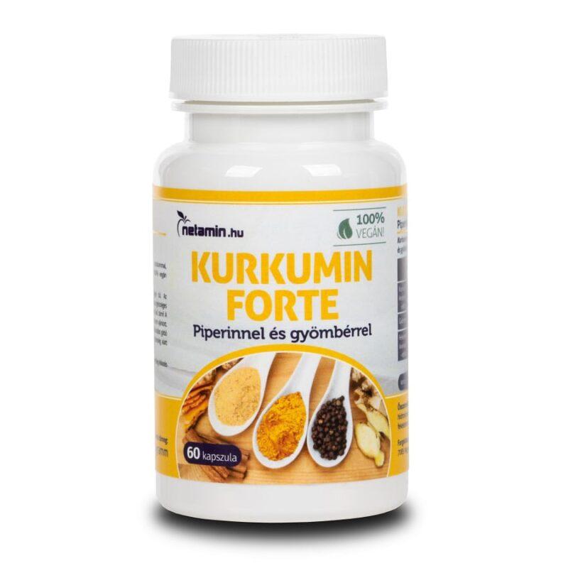 Netamin Kurkumin Forte kapszula – 60db