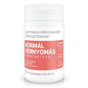 Pharmacoidea Normál vérnyomás fenntartása kapszula - 30db