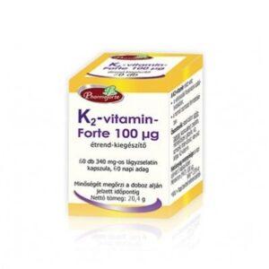 Pharmaforte K2-vitamin Forte kapszula - 60dbPharmaforte K2-vitamin Forte kapszula - 60db