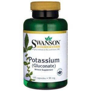 Swanson Kálium-Potassium készítmény - 100db kapszula