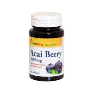 Vitaking Acai Berry kapszula - 60db kapszula