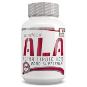BioTech USA ALA Alpha Lipoic Acid - 50db