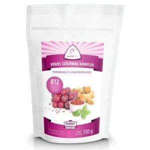 Mentalfitol Vörös szőlőmag őrlemény B12-vitaminnal – 150g