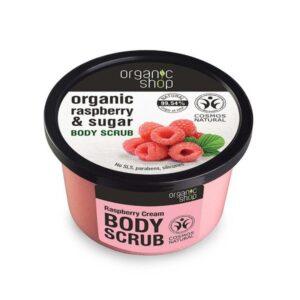 Organic Shop Bőrradír bio málnával - 250ml