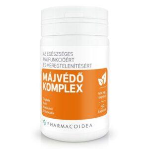 Pharmacoidea Májvédő Komplex kapszula – 30db