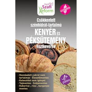 Szafi Reform szénhidrát csökkentett kenyér és péksütemény lisztkeverék - 500g