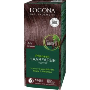 Logona Növényi hajfestékpor eszpresszó - 100g