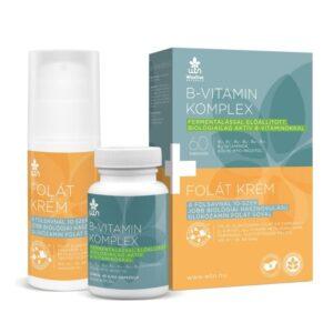 WTN B-vitamin komplex 60db + Folát krém 100mlWTN B-vitamin komplex 60db + Folát krém 100ml