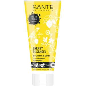 Sante Energy tusfürdő bio citrom és birsalma kivonattal - 200mlSante Energy tusfürdő bio citrom és birsalma kivonattal - 200ml