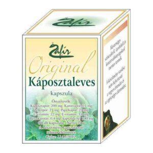 Zafir Káposztaleves porkapszula - 60db