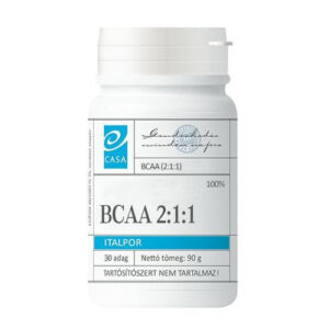 Casa BCAA 2:1:1 italpor – 90g