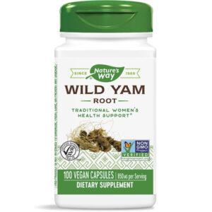 Natures Way Wild Yam kapszula - 100db