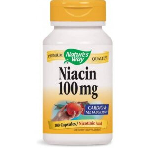 Natures Way Niacin kapszula – 100db