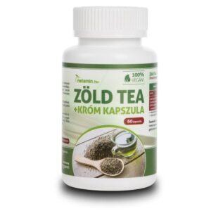 Netamin Zöld tea + Króm tabletta - 60db