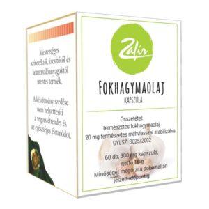 Zafir Fokhagyma olajkapszula - 60db