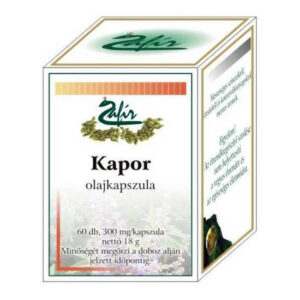 Zafir Kapor olajkapszula - 60db