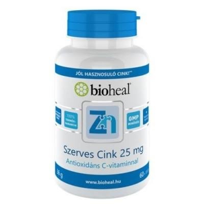 Bioheal Szerves Cink filmtabletta - 70db