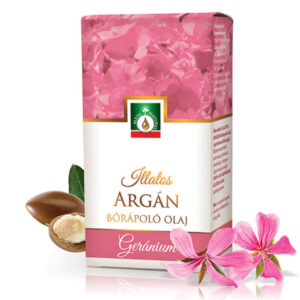 Medinatural Argán-Geránium bőrápoló olaj - 20ml