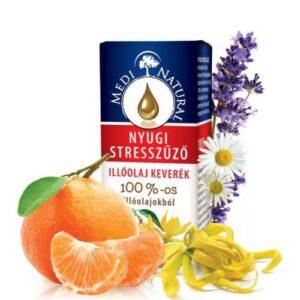 Medinatural Bio illóolaj nyugi stresszűző - 10ml