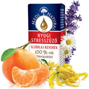 Medinatural Illobello nyugi stresszűző illóolaj keverék - 10ml