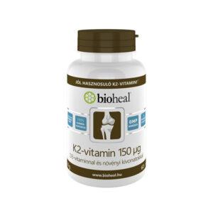 Bioheal K2+D3-vitamin filmtabletta - 70db