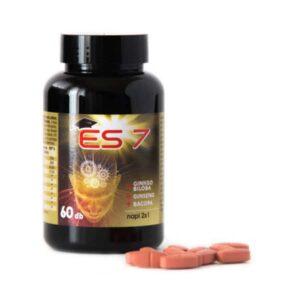 ES7 Agyserkentő tabletta - 60db