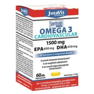 Jutavit Omega-3 Cardiovascular kapszula - 60db
