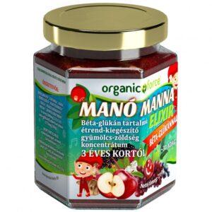Manó Manna elixír béta-glükánnal - 210g