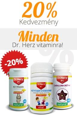 Dr. Herz vitaminok -20 kedvezménnyel!