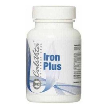 CaliVita Iron Plus - vas C-vitaminnal tabletta - 100db