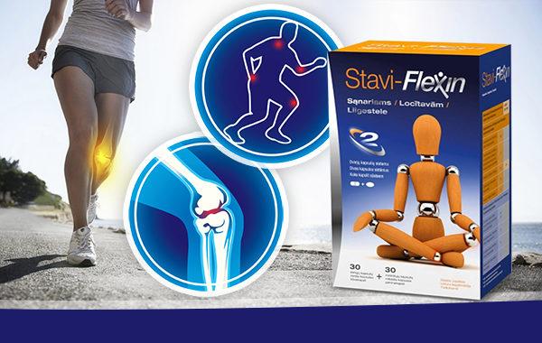 Őrizze meg a mozgás örömét Stavi-Flexin készítménnyel!