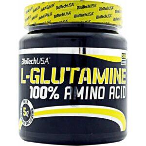 BioTech USA 100% L-Glutamine por - 500g