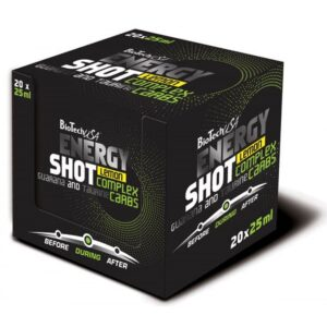 BioTech USA Energy Shot ampulla - 20x25 ml