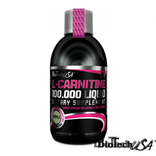 BioTech USA L-Carnitine 100.000 mg alma koncentrátum - 500ml