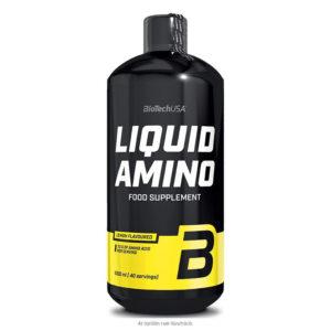 BioTech USA Liquid Amino / Nitron narancs - 1000ml
