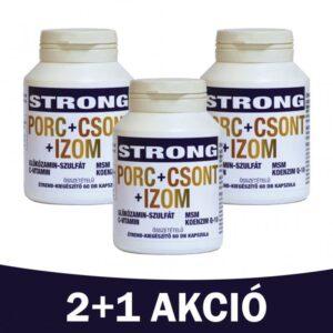 Celsus Strong Porc+Csont+Izom kapszula 2+1 akció - 3x60db