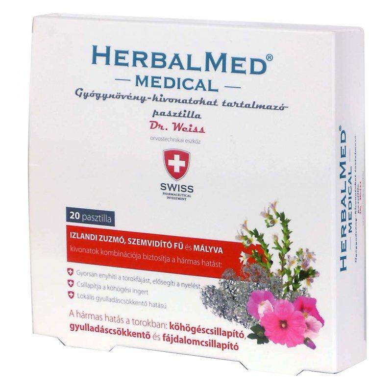 Herbal Swiss Medical Pasztilla - 40db