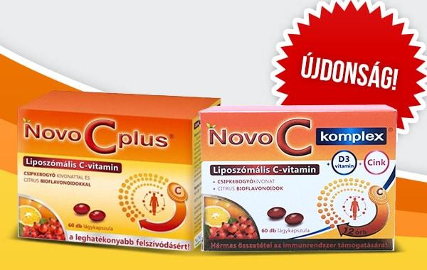 Újdonság: Novo C Plus Komplex