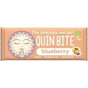 Quin Bite Bio nyers szelet áfonya - 30g