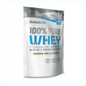 BioTech USA 100% Pure Whey málnás sajttorta - 1000g
